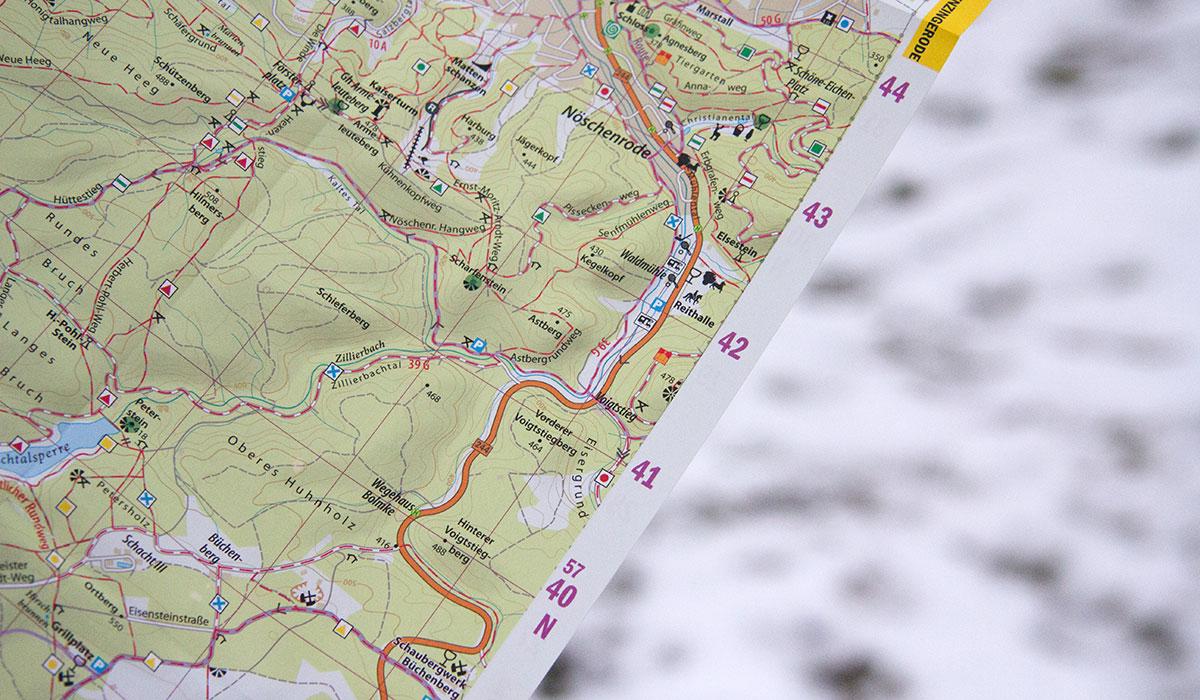 Koordinaten Karte.Standort Bestimmen Mit Gps Und Karte